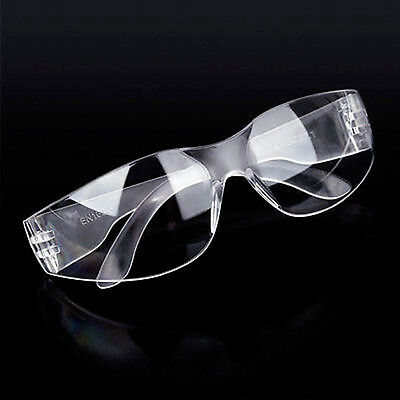 Eye Protective Goggles Safety Lab Glasses Vented Protection Anti Fog Clear Cool