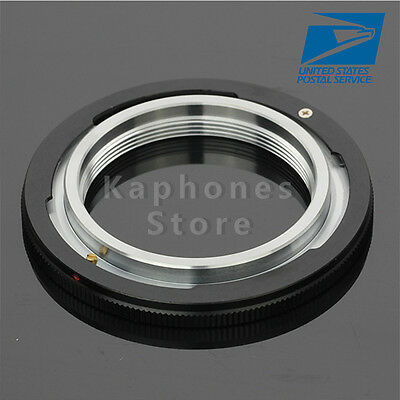 US Lens Adapter For M42 Screw Mount to Canon FD F-1 A-1 T60 Film Camera
