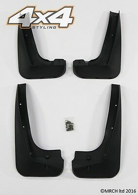BMW X3 E83 2003 - 2010 Mud Flaps Mud Guards set of 4 front and rear