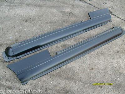 Renault 5 Gt Turbo Replacement Full Sill Body Panel Pair + Clips + Rivets Kit