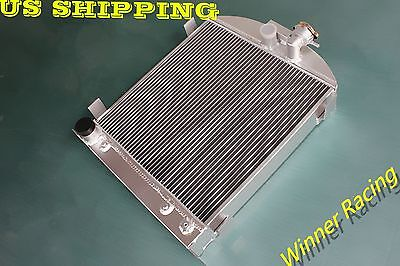 """22.5"""" high 3"""" chopped radiator for Ford hot rod w/FORD 305 V8 engine 1932"""