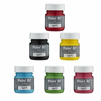 Rainbow Dust Paint It Cake Decorating Decoration Edible Food Mix of 6 Colours