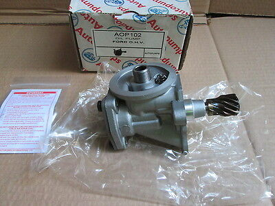 Ford  O .h .v  X  Flow Engine Oil Pump New ( Aop 102 )