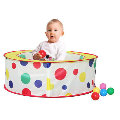 Charles Bentley Children's Pop Up Ball Pit With 50 Balls Play Tent