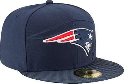 huge selection of 2f5b7 f6fe9 New Era New England Patriots 2016 Official NFL Sideline 59fifty Fitted Cap  Men s