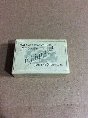 PRE 1910 ANTIQUE APOTHECARY MEDICINE ADVERTISING #70- Moore's Digest or