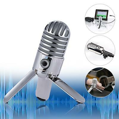 Samson Meteor Studio Condenser Microphone for Computer NoteBook Tablet PC R7B0