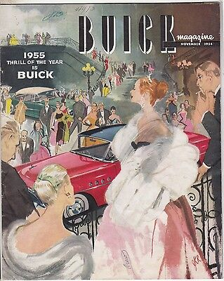 [61934] Buick Magazine November 1954 (Preview Of The 1955 Models)