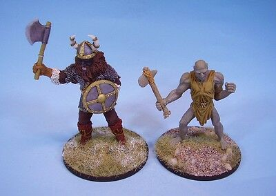 Clearance painted miniatures Giants (Ral Partha 20-35 years old)