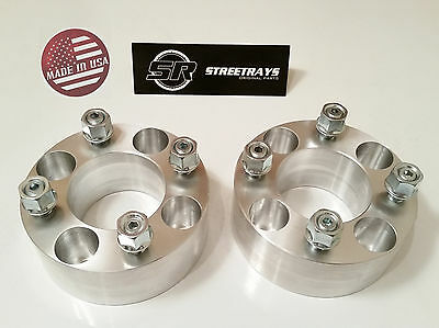 Front Wheel Spacers Yamaha Raptor 700 2006-2016 Billet HDM NEW 3 INCH TOTAL