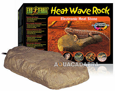 Exo Terra Heating Rock Reptile Large Heating Element Lizard Terrarium Vivarium