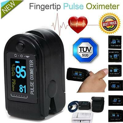 Accurate OLED Fingertip Pulse Oximeter Spo2 Blood Oxygen Monitor pulsoximeter