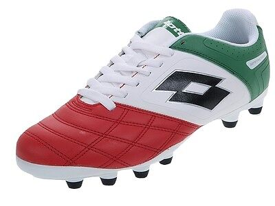 Chaussures football moulées Lotto Stadio potenza italie Blanc 32771 - Neuf