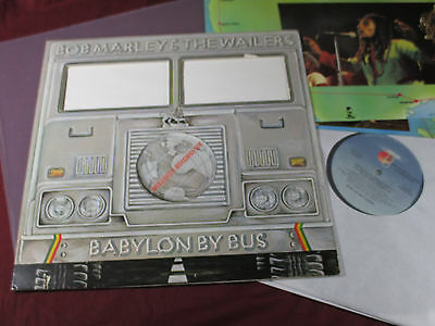 Bob Marley & The Wailers BABYLON BY BUS - Island USA 2 LP-Set + Poster near mint