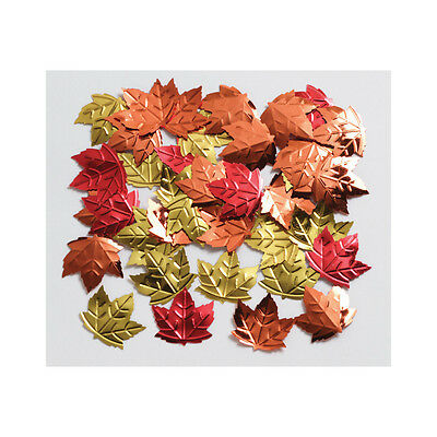 Autumn Leaves Table Confetti Sprinkles - Thanksgiving Harvest Decorations