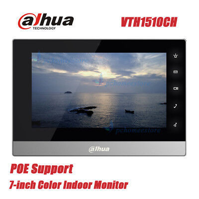 Dahua VTH1510CH Resistance Touch Video Intercom POE 7-inch Color Indoor Monitor
