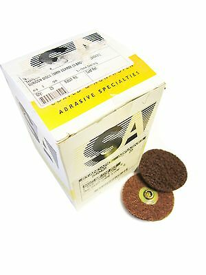 75mm Standard Abrasives Surface Conditioning Quick Change Discs Coarse Brown
