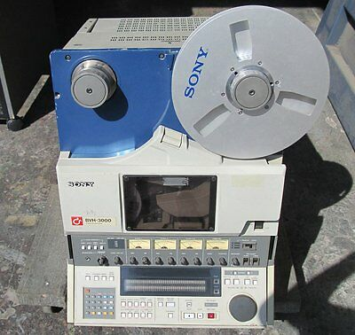 "Sony BVH-3100 1"" NTSC Type C Video Tape Recorder VTR"