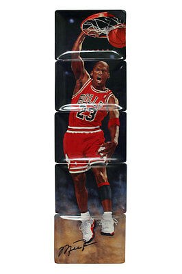 """NBA Chicago Bulls Michael Jordan """"Rising to Greatness"""" Plate Collection"""