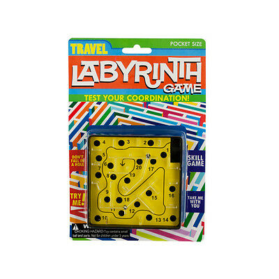 Travel Labyrinth Game 72 Pack