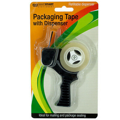 Packaging Tape with Refillable Dispenser 72 Pack
