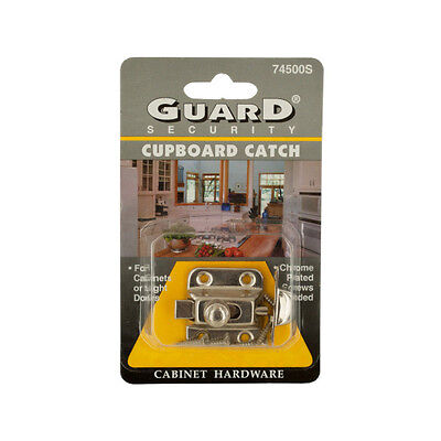 Chrome Plated Steel Cupboard Catch 24 Pack