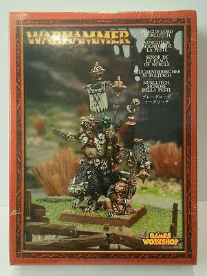 SKAVEN Plague Lord Nurglitch box set NEW RARE metal Age of Sigmar (sealed) OOP