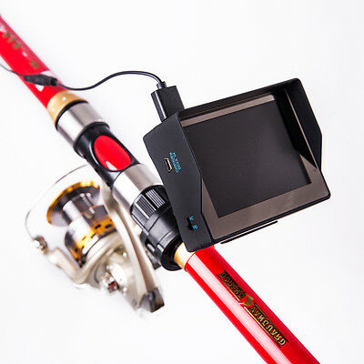 "30m Professional Fish Finder Underwater Fishing Video Camera Monitor 3.4"" LCD"