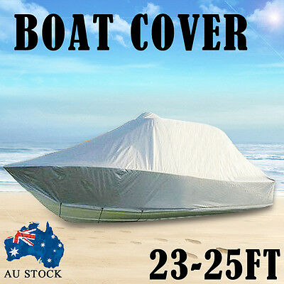 Design Heavy Duty 23FT-25FT (7.0M-7.6M) Trailerable Jumbo Boat Cover With Zipper