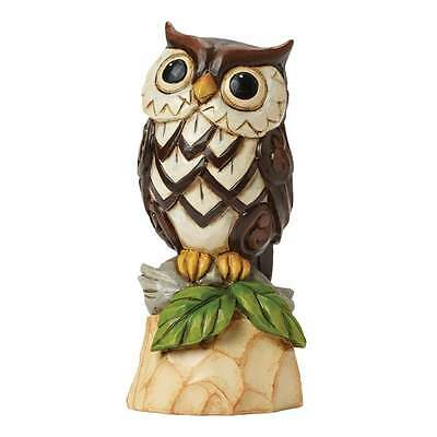 Jim Shore Heartwood Creek Owl Be There Woodland Owl Figurine New 4045280