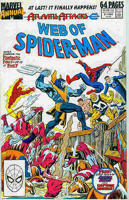 Web of Spiderman Annual # 5 (USA, 1989)
