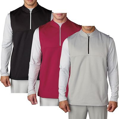 2016 Adidas Climawarm Debossed Iconic Gilet Breathable Insulation Mens Golf Vest