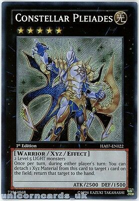 HA07-EN022 Constellar Pleiades Secret Rare 1st edition Mint YuGiOh Card