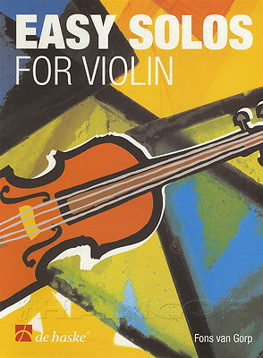 Easy Solos for Violin Sheet Music Book with Play Along CD