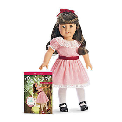 """American Girl SAMANTHA DOLL & BF BOOK 18"""" Beforever Dress Outfit Clothes -1*"""