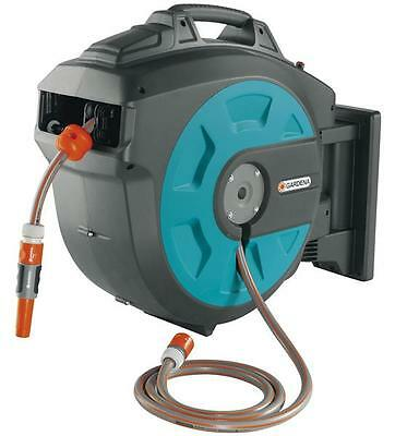 GARDENA Wall Mounted Hose 35 roll-up automatic 08024-20