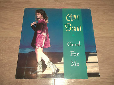 """Amy Grant """" Good For Me """" 12"""" Vinyl 1991 Excellent A&m Records Amy 810"""