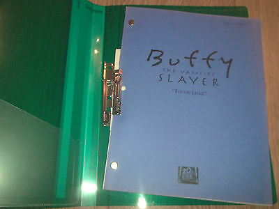 "Buffy The Vampire Slayer ~ Shooting Draft Script "" Tough Love "" 2002"