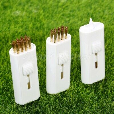 Multifunction Golf Club Cleaning Brush Retractable Groove Cleaner Tool Set