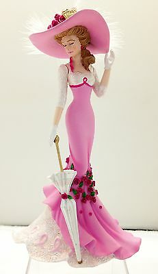 Cheerful Support Lady Figurine Ladies of Victoriana Bradford Exchange