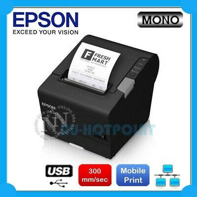 Epson TM-T88V-I Intelligent POS Thermal Receipt Printer+Mobile Print C31CA85798