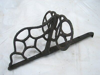 Antique Architectural Open Work Cast Iron Snow Bird Stop Roof Guard