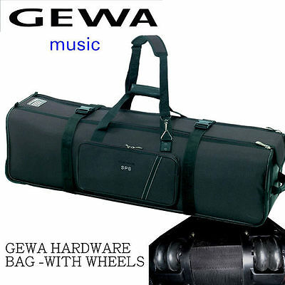 Gewa 36 Inch Drum Hardware Case Bag With Wheels