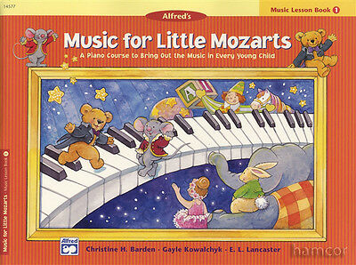 Music for Little Mozarts Book 1 Children's Learn to Play Piano Beginner Method