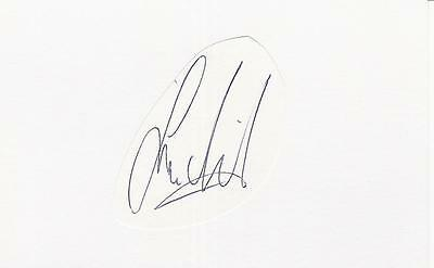 A white card clipped autograph. Personally signed by footballer Ivan Nielsen.