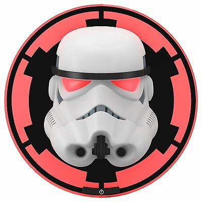 Star Wars 3D Wall Light - Stormtrooper Childrens Bedroom Lighting New Free P+P