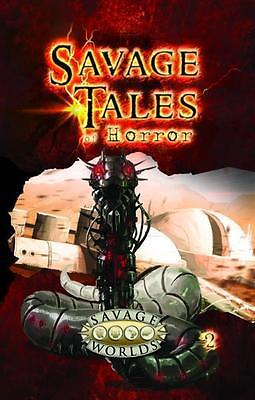 Savage Worlds RPG: Savage Tales of Horror - Volume 2 (Softcover) S2P 10551