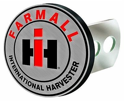 """International Harvester Farmall 1 1/4""""-2"""" Solid Metal Hitch Plug Receiver Cover"""