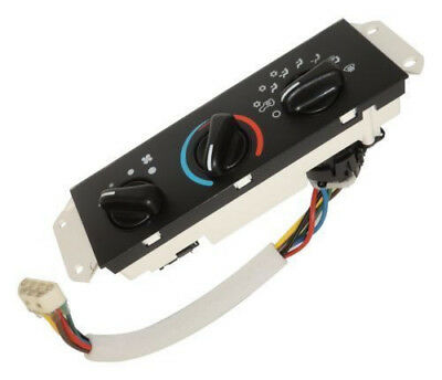 A/C & Heater Control Unit Fits: Jeep Wrangler TJ 1999-2001 with AC 55037473AB