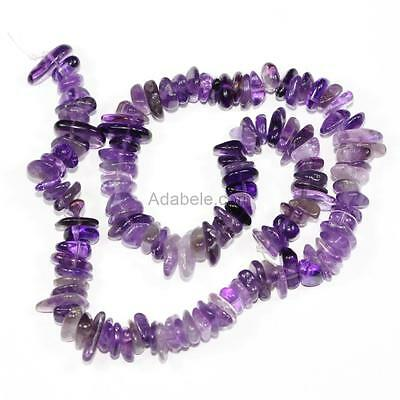 "U Pick 16"" AAA Natural Round Chips Gemstone Beads ~10x8mm Free-Form Loose Beads"
